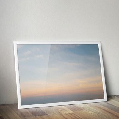 바다 하늘 포스터