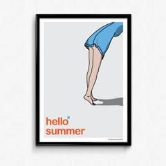 FPC 인테리어 아트 포스터 액자 Hello summer
