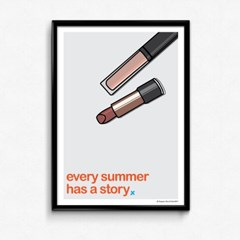 FPC 인테리어 아트 포스터 액자 Summer story