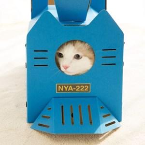 [FELISSIMO] 고양이 기관차 하우스 (2 options)