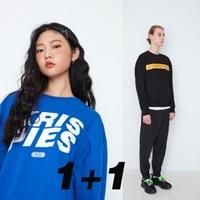 [1+1기획]페퍼시즈닝 맨투맨 2set