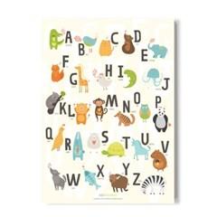 ablebamboo 알파벳 포스터[Alphabet 022]
