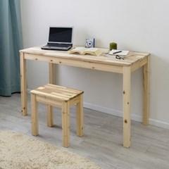 아카시아원목 1000×450 다용도 슬림 테이블 책상 식탁