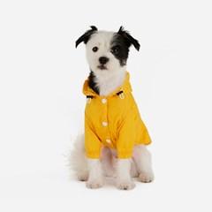 강아지 바람막이 - 노랑