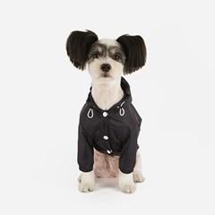 강아지 바람막이 - 네이비