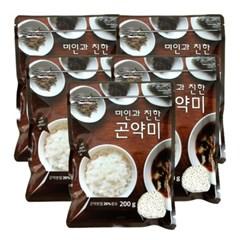 [기획]미인과친한 곤약미 곤약쌀200g 5봉_(688766)