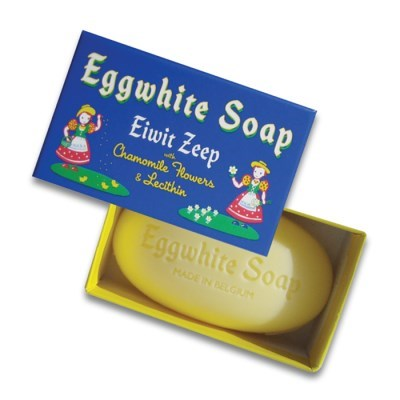 EGG WHITE SINGLE BAR SOAP