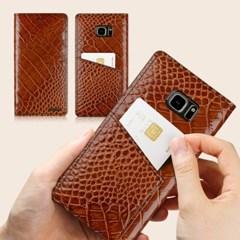 모티모 노트8 아이폰8 LG Q8 V30 (루이스B/악어엠보) S8 슬림형