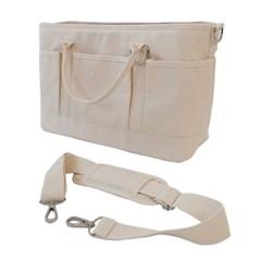 Cross Carry Bag - ivory