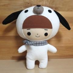 [인형DIY] 강아지 인형만들기 DIY (개띠 애착인형)