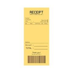 RECEIPT 메모지 (옐로)