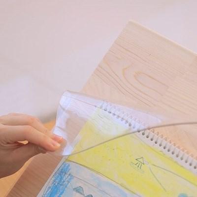 데스크매트 80x45cm 고무패드 유리대용 책상보호매트