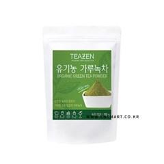 티젠 유기농 가루녹차 100g(녹차100%)_(601243)