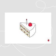 [postcard]달콤딸기