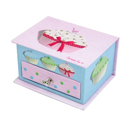 CUPCAKES - SMALL TRINKET BOX (CSC016)