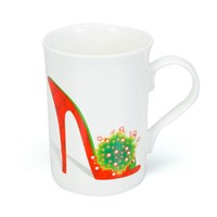 QUILTED HEEL - SINGLE MUG