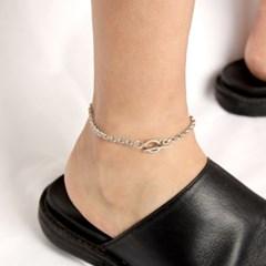 [Unisex] Unusual Chain Ankle Bracelet 언유즈얼 체인 발찌