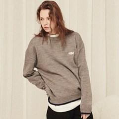 EDGE LINE POINT SWEATER_KN009