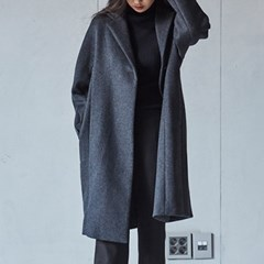 BUTTON OVER COAT