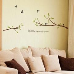 우드스티커- 나무가지 (컬러완제) W490 월데코 입체