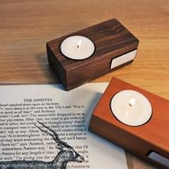 Wood Tealight Candle Holder_우드 티라이트 캔들 홀더