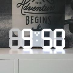 소프시스 3D LED 벽시계