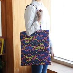 이태리 designer eco bag_바니그래피티 블루 (독점디자인)