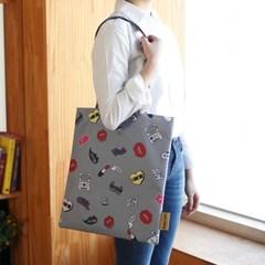 이태리 designer eco bag_Funky style 에코백 그레이 (독점디자인)