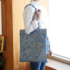 이태리 designer eco bag_Party 에코백 다크그레이 (독점디자인)