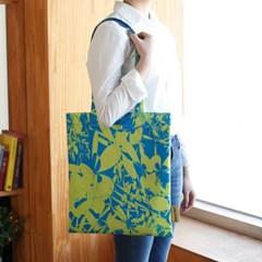 이태리 designer eco bag_ windmill 라임/블루 (독점디자인)