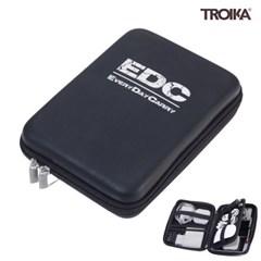 [트로이카] EDC CASE 여행용 디지털 파우치 블랙/실버 (CBO12/BS)