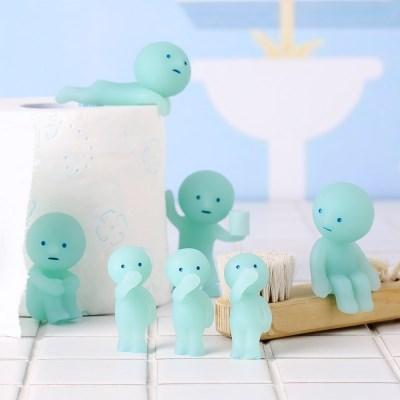 스미스키 야광 미니피규어 Toilet - Smiski (박스)