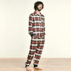 (M) Ben PJ Set Flannel Royal Stewart