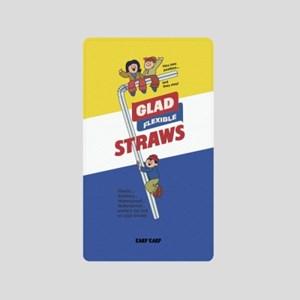 [어프어프]Straws glad-blue 보조배터리 mah2500/mah5000