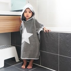일공팔랩[108LAB] 키즈바스로브/아동 목욕가운/샤워가운
