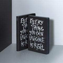 [NUUNA] 누우나 그래픽 노트 - EVERYTHING YOU CAN IMAGINE (블랙)