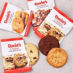 데이비드 쿠키 10개(피넛버터/초콜렛칩/더블초코칩)_(1699325)