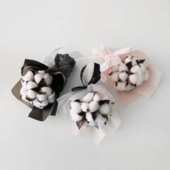 목화 스몰 꽃다발 (6p)