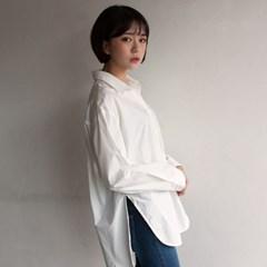 글래스 베이직 언발셔츠(3color)