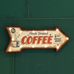 [ATELIER] HH 커피숍 LED장식