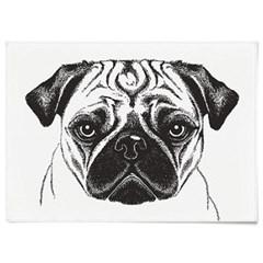 패브릭 포스터 F102 동물 개 강아지 그림 퍼그
