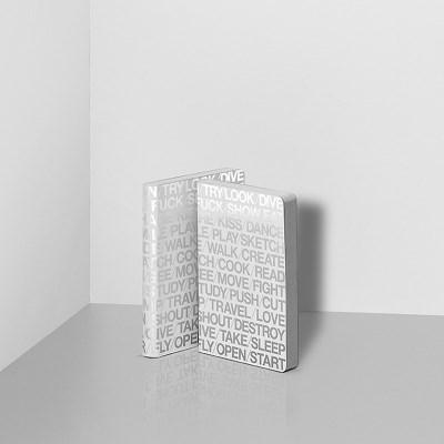 [NUUNA] 누우나 그래픽 노트 스몰 - 100 IDEAS WHITE