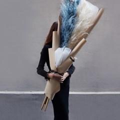 팜파스 대형 꽃다발