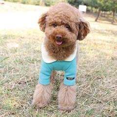 면니트 솜사탕 강아지 티셔츠