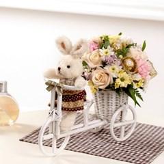 FN1726 꽃바구니+인형+초콜릿(사랑을 노래해)