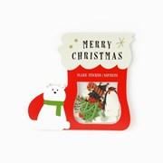 Christmas flakes sticker