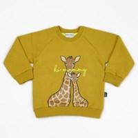 Mustard Giraffe Sweatshirts
