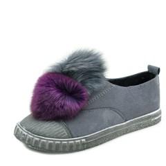 kami et muse Rich double fur drop vintage sneakers_KM17w142