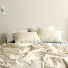 Bedding set (cotton) - 40 Paperwhite Q(퀸)