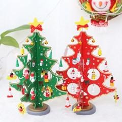 더욱 커진 DIY 크리스마스 우드트리 30cm